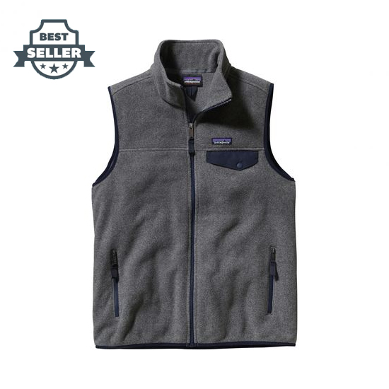 파타고니아 경량 신칠라 남성용 조끼 Patagonia Lightweight Synchilla Snap-T Fleece Vest - Mens