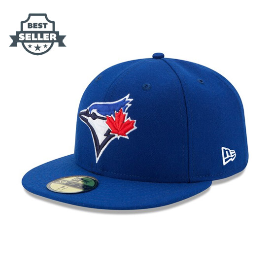 MLB 토론토 블루제이스 온 필드 볼캡 (뉴 에라 59피프티) Mens Toronto Blue Jays New Era Royal Authentic Collection On Field 59FIFTY Fitted Hat