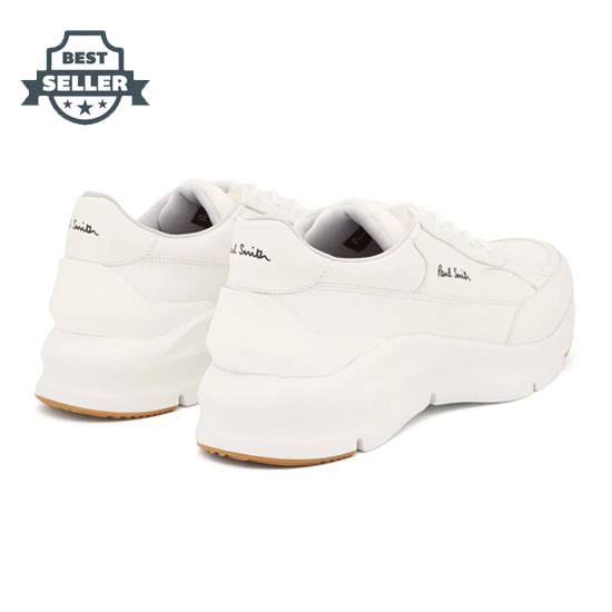 폴 스미스 레인저 스니커즈 - 화이트 Paul Smith Ranger exaggerated-sole leather trainers