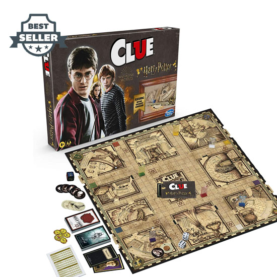 [NEW] 하스브로 보드게임 클루: 해리 포터 에디션 Hasbro Gaming Clue: Wizarding World Harry Potter Edition Mystery Board Game for 3-5 Players, Ages 8 and Up