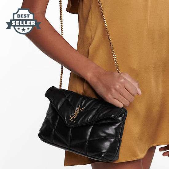 21SS 생 로랑 루루백 토이, 푸퍼 Saint Laurent Loulou Toy Puffer leather shoulder bag