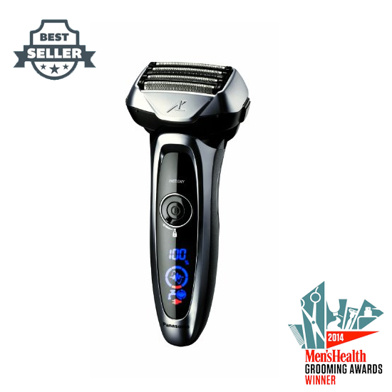 파나소닉 5중날 Arc5 전기 면도기 ES-LV65-S Panasonic Arc5 Electric Razor, Mens 5-Blade Cordless with Shave Sensor Technology and Wet/Dry Conve