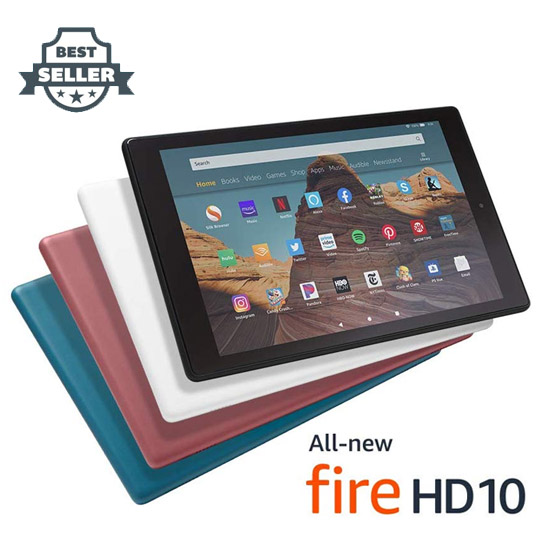 아마존 파이어 HD 10인치 태블릿 32G, 64G Amazon Fire HD 10 Tablet w/ Special Offer