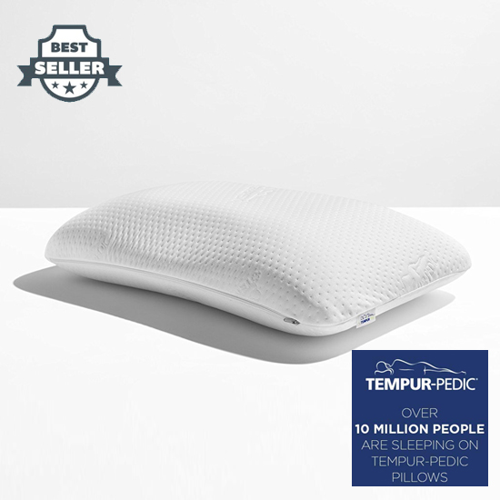 템퍼페딕 템퍼 소프트 베개, 소프트 서포트 워셔블 커버 TEMPUR-PEDIC Tempur-Pedic TEMPUR Symphony Pillow, Soft Support, Adaptable Comfort Washable Cover, Assembled in the USA