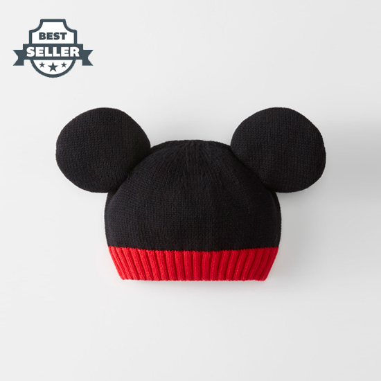 한나앤더슨 X 디즈니 미키마우스 비니 Hannaandersson Disney Mickey Mouse Beanie,Mickey Mouse Black