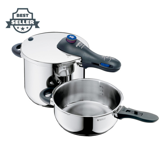 WMF 퍼펙트 플러스 3피스 압력솥 세트 Perfect Plus Pressure Cooker Set, 30 Qts and 65 Qts