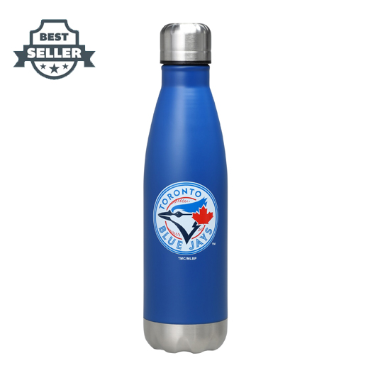 MLB 토론토 블루 제이스 스테인레스 물통 17온스 (약 500ml) Toronto Blue Jays 17oz Team Color Stainless Steel Water Bottle