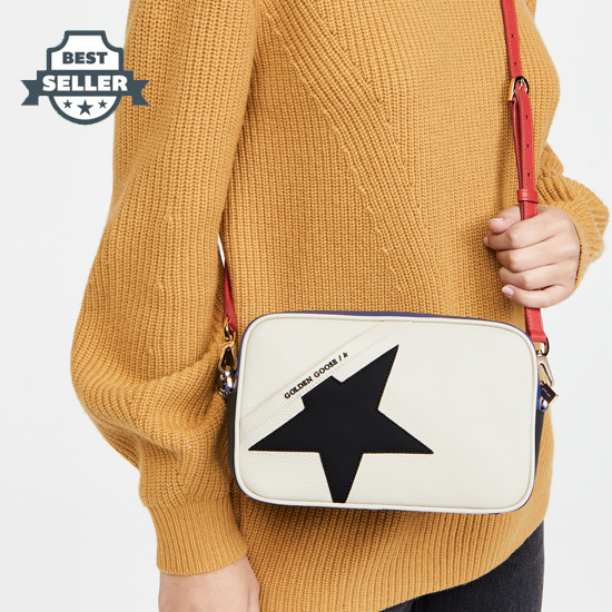 골든구스 스타백 (손담비 착용) Golden Goose Star Bag,White/Black/Blue/Red