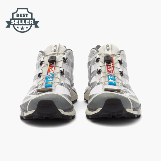 살로몬 XT-4 스니커즈 Salomon XT-4 Advanced trainers,Silver